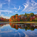 Factory Pond Holliston Ma by Juergen Roth