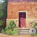Faded Door by Sharon Weaver
