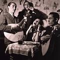 Fado Singer In Portuguese Night Club by Everett