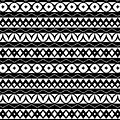 Fair Isle Black And White by Rachel Follett