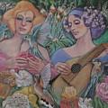 Faire Garden by Pamela Mccabe