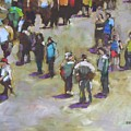 Fairgoers by Mary McInnis