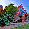 Fairhope Alabama Methodist Church by Michael Thomas