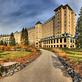 Fairmont Chateau Lake Louise by Adam Jewell
