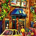 Fairmount Bagel In Montreal by Carole Spandau