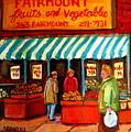 Fairmount Fruit And Vegetables by Carole Spandau