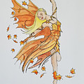 Fall Fairy by Johnny McNabb