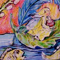 Fairy On The River. by Susan Brown    Slizys art signature name