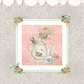 Fairy Teacups - Tea Party For Two by Audrey Jeanne Roberts