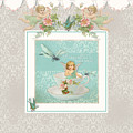 Fairy Teacups - Vintage Modern Baby Room Decor by Audrey Jeanne Roberts