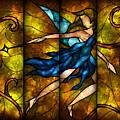 Fairy Tetraptych by Mandie Manzano
