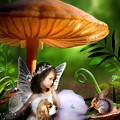 Fairy Woodland by Julie L Hoddinott