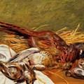 Faisans Canapetiere Et Grives 1902 by Renoir PierreAuguste