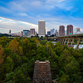 Fall Approaching In Richmond by Aaron Dishner