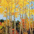 Fall Aspen Santa Fe by Gary Kim