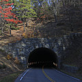 Fall At Bluff Mountain Tunnel by Vincent Case