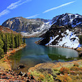 Fall At Ellery Lake by David Toussaint - Photographersnature.com