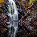 Fall At Fall River Falls by Rikk Flohr