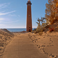 Fall At Little Point Sable Light by Susan Rissi Tregoning
