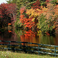 Fall At The Farm by Gina Cormier