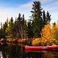 Fall At The Lake by Lori Dobbs