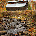 Fall Barn  by Betty Pauwels