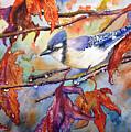 Fall Blue Jay by Priti Lathia