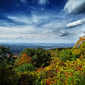 Fall Blue Ridge Parkway by Dawn Gari
