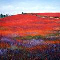 Fall Blueberries 1 by Laura Tasheiko