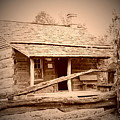 Fall Cabin by Cher Kelley