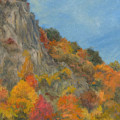 Fall Colors At Hook Mountain by Phyllis Tarlow