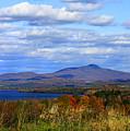 Fall Colors At Lake Carmi by Deborah Benoit
