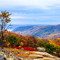 Fall Colors From Bear Mountain by William Rogers