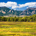 Fall Colors Of Boulder Colorado by Marilyn Hunt