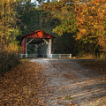 Fall Covered Bridge by Dale Kincaid