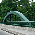 Fall Creek Gorge Bridge Cornell University Ithaca New York by Thomas Woolworth