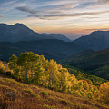 Fall Evening In American Fork Canyon by James Udall
