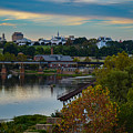 Fall Evening In Richmond by Aaron Dishner