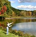 Fall Fishing by Kristin Elmquist