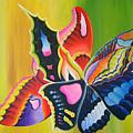Fall Flight by Arides Pichardo
