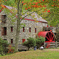 Fall Foliage At The Sudbury Grist Mill by Juergen Roth