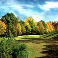Fall Golf Course Beauty by Michael Forte