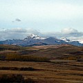 Fall Hills Rolling Towards The Mountains by Tracey Vivar