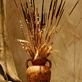 Fall In A Vase Still-life by Christine Till