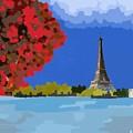 Fall In Paris by Yilmar Henry