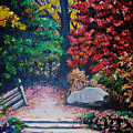 Fall In Quebec Canada by Karin  Dawn Kelshall- Best