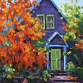 Fall In The Neighborhood by Karen Ilari