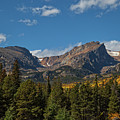 Fall In The Rockies by Ronald Lutz