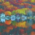 Fall Lake by Harry Warrick