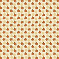 Fall Leaves Light Pattern by Silvia Ganora